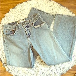 Vintage express jeans 5/6 low rise flare